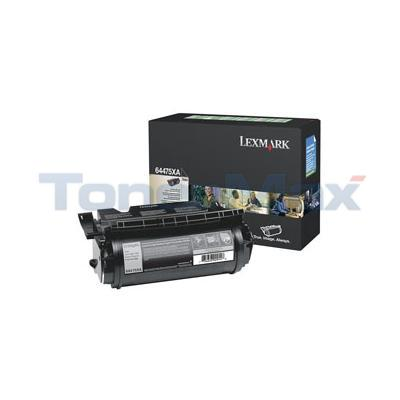 LEXMARK T644 RP PRINT CART BLACK GSA 32K